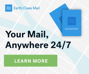 Earth Class Mail For Expats and Travelers!