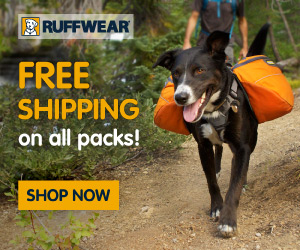 Get dog gear at Ruffwear.com!