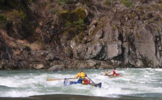 Class III Rapid on the Illinois River
