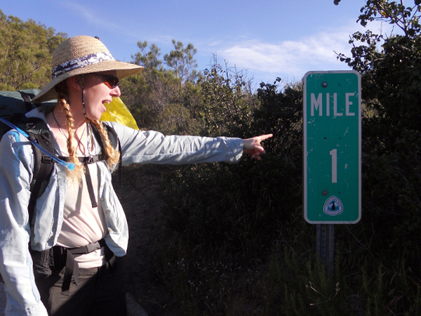 Only 19.5 miles more to Lake Morena. Photo by Natalie Fisher.