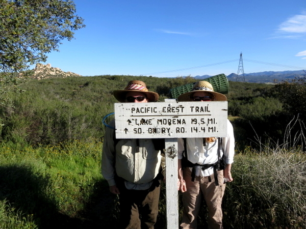 Not Far to Lake Morena - Pacific Crest Trail