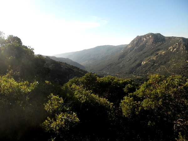 Hauser Canyon - Pacific Crest Trail