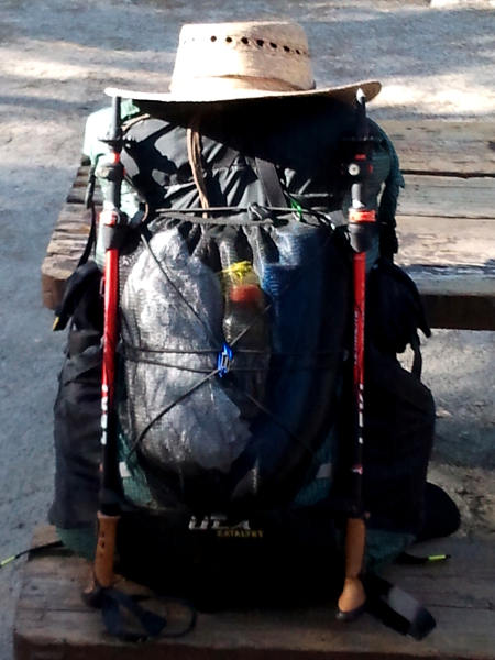 My ULA Catalyst Backpack - Pacific Crest Trail