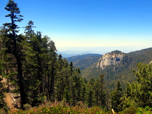 Side of Mount San Jacinto - Pacific Crest Trail
