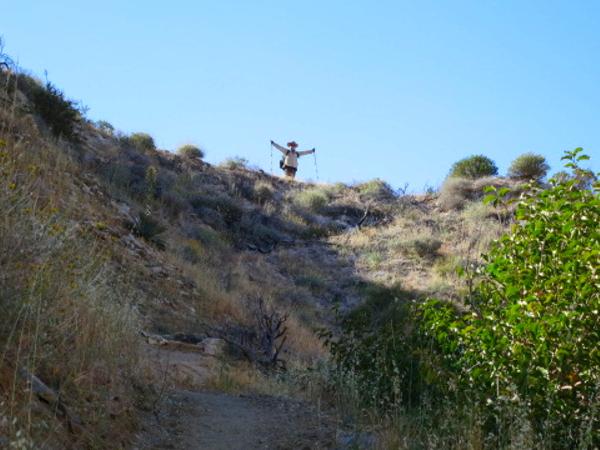 Mesa Wind Farm 4 - Pacific Crest Trail