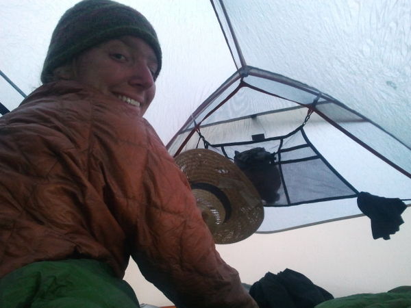 Inside - Big Agnes Coppur Spur UL3 - Pacific Crest Trail