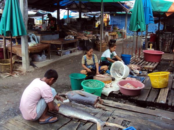 Market - Ranong - Thailand
