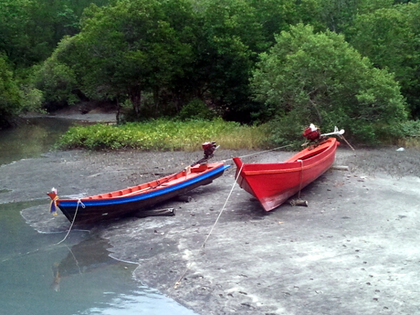 Long Tail Boats - Little Koh Chang - Thailand