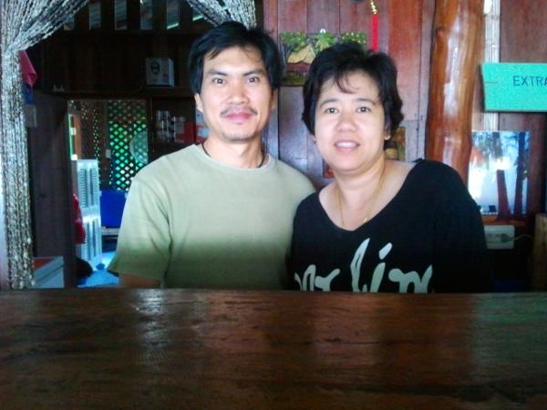 Noi and Fon - Sawasdee Resort - Little Koh Chang - Thailand