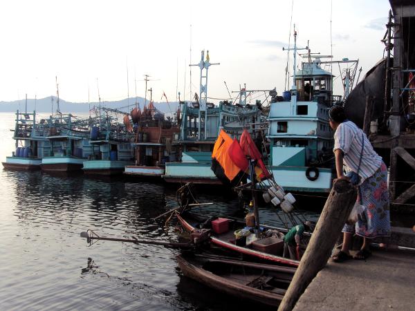 Fishing Boats - Khuraburi - Thailand