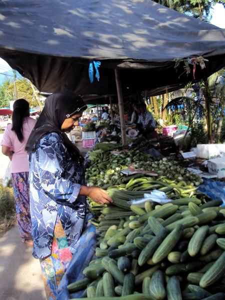 Market - Khuraburi - Thailand