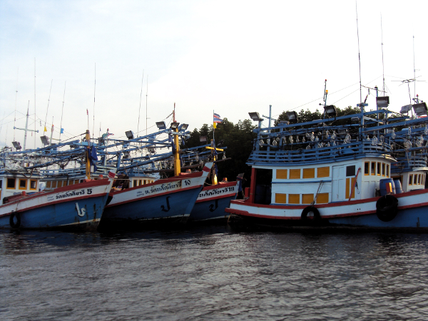 More Fishing Boats - Khuraburi - Thailand