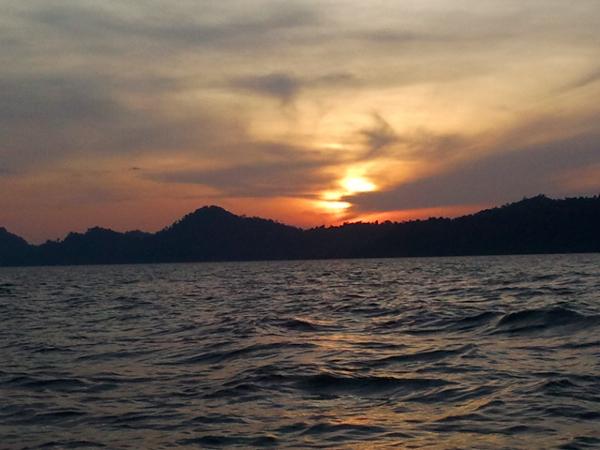 Sunset - Khuraburi - Thailand
