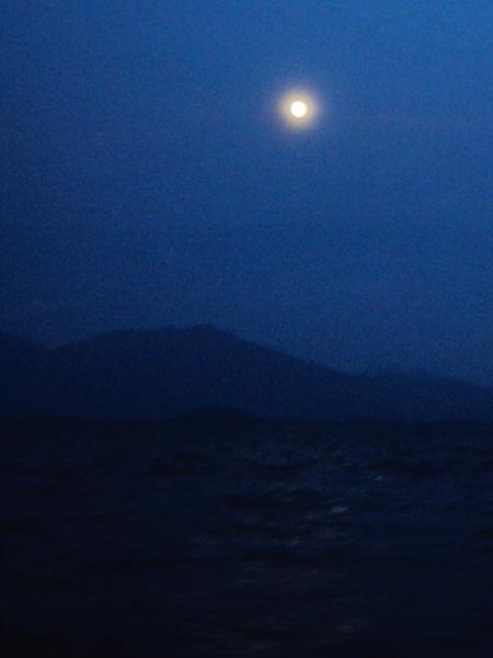 Moonrise - Khuraburi - Thailand