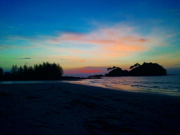 Sunset - Koh Phra Thong - Thailand