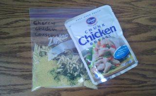 Cherry Chicken Couscous