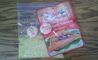 Salmon White Cheddar Couscous