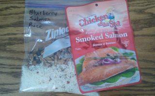 Blueberry Salmon Rice