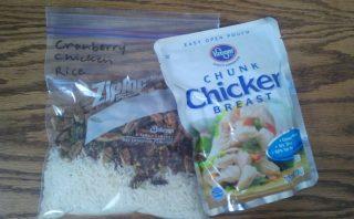 Cranberry Chicken Rice