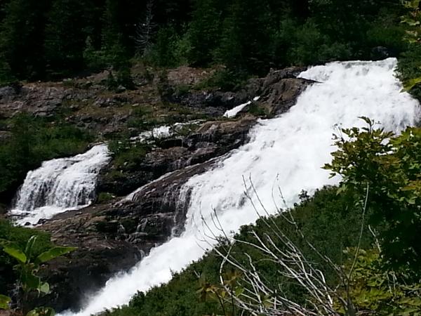 Trail Falls - North Cascades