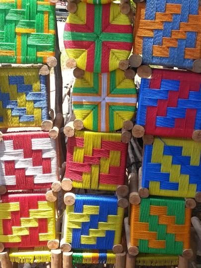 Colorful Stools - RN2 - Madagascar
