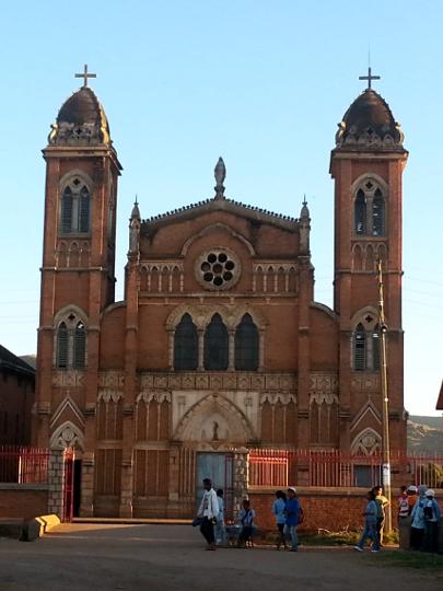 Catholic Church - Betafo - Madagascar