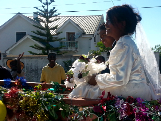 Faux Bride and Groom - Antsirabe - Madagascar