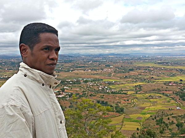 Our Guide, Isaiah - Ambohimanga - Madagascar