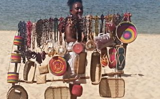 Selling Curios - Manambato - Madagascar