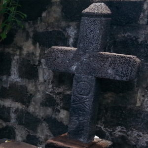 The grave of the pirate La Buse in Saint Paul, Réunion.
