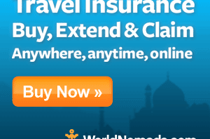 WorldNomads.com Travel Insurance
